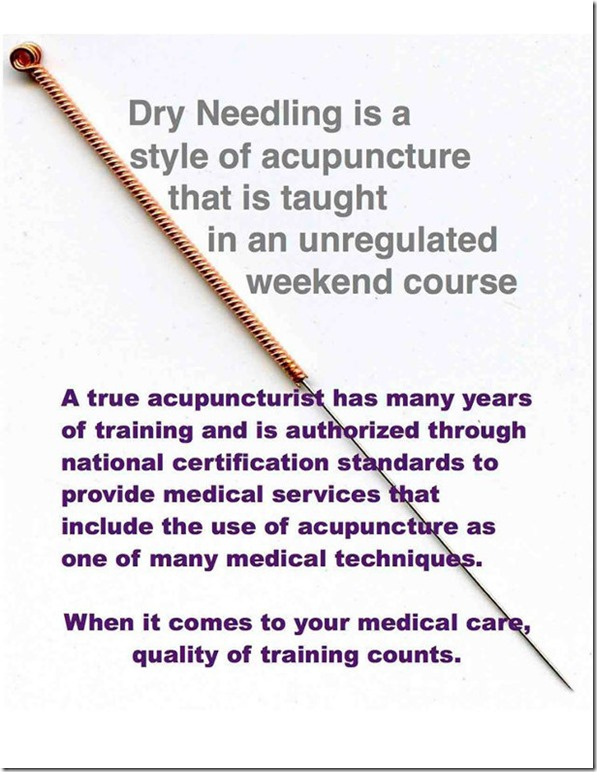 The Scoop About Dry Needling – medicine crone